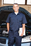 Mechanic at work Stock Photos