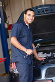 Mechanic at work Royalty Free Stock Image