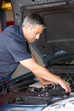 Mechanic at work Stock Photography