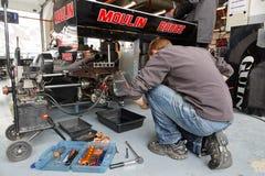 Mechanic at work. Stock Photos