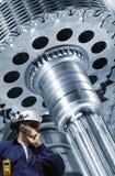 Mechanic and gear machiney Stock Photography