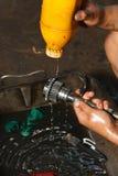 Mechanic working. Stock Photo