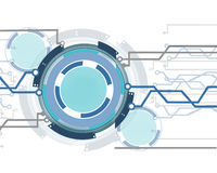 Mechanical abstract. Background color in the system vector illustration