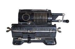 Mechanical adding machine Royalty Free Stock Image