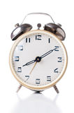 Mechanical alarm clock Stock Photo