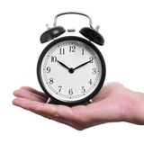 Mechanical alarm clock Stock Photos