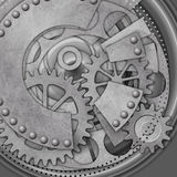 Mechanical Background Stock Photo
