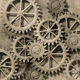 Mechanical Background Royalty Free Stock Photos