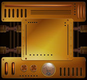Mechanical background Royalty Free Stock Image