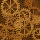 Mechanical Background Stock Photo
