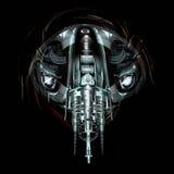 Mechanical beast, 3D Illustration Stock Image