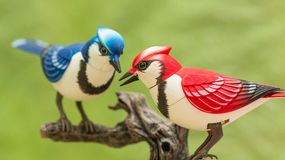 Mechanical birds. Stock Image