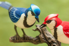 Mechanical birds. Royalty Free Stock Photos