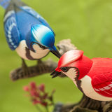 Mechanical birds. Stock Photos