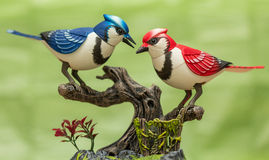 Mechanical birds. Royalty Free Stock Photo