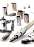 Mechanical bit tool set Royalty Free Stock Images