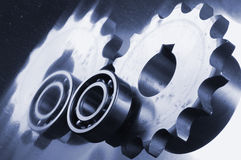 Mechanical blues Stock Images