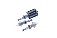 Mechanical broadheads Stock Images