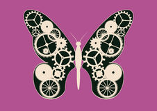 Mechanical butterfly Royalty Free Stock Image