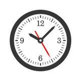 Mechanical Circle Clock Dial Set. Vector Stock Photo