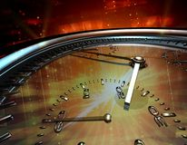 Mechanical clock Royalty Free Stock Photography