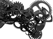 Mechanical clock Stock Images