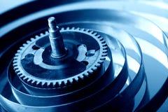 Mechanical clock gear Stock Image