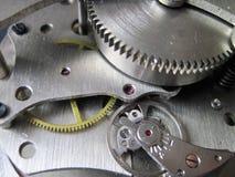 Mechanical clock mechanism Stock Images