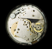 Mechanical clockwork Royalty Free Stock Images