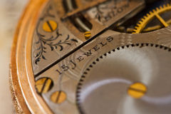 Mechanical clockwork Stock Images