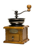 Mechanical coffee grinder Stock Image