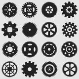 Mechanical Cogs and Gear Wheel Royalty Free Stock Images