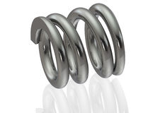 Mechanical Compression Spring Stock Images