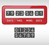 Mechanical countdown timer Royalty Free Stock Photography