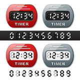 Mechanical counter - countdown timer Royalty Free Stock Photography