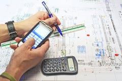 Mechanical Designer Stock Image