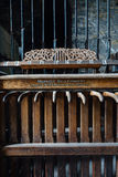 Mechanical Device for Church Bells - Abandoned Church - New York royalty free stock images