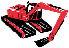Mechanical digger Stock Image