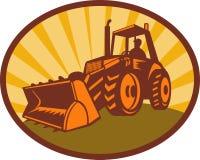 Mechanical digger excavator Royalty Free Stock Image