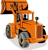 Mechanical digger excavator Stock Image