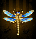 Mechanical dragonfly Royalty Free Stock Photos