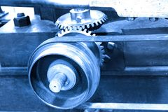 Mechanical elements Royalty Free Stock Image
