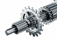 Free Mechanical Engine Parts Stock Photography - 23568472