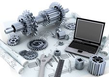 Mechanical Engineering Concept Stock Image