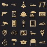 Mechanical engineering icons set, simple style. Mechanical engineering icons set. Simple set of 25 mechanical engineering vector icons for web for any design vector illustration
