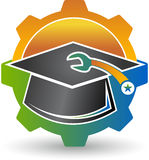 Mechanical engineering logo Royalty Free Stock Photos