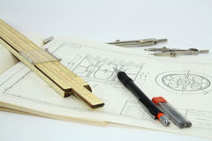 Mechanical Engineering. Royalty Free Stock Photos