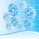 Mechanical, engineering and technology Background. Illustration vector illustration