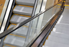 Mechanical escalator Royalty Free Stock Image