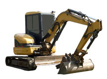 Mechanical excavator Royalty Free Stock Photo